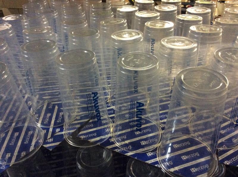 Пластиковые стаканы